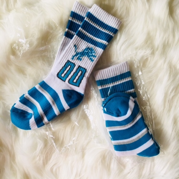 detroit lions youth socks